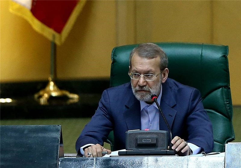 Iran's Larijani Raps West for Sending Arms Cargo to Terrorists in Syria