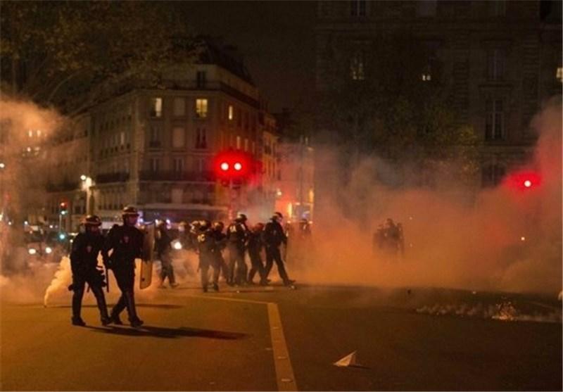 تظاهرات پاریس فرانسه