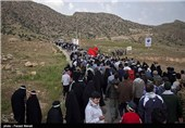 صعود 20 هزار نفری به ارتفاعات بازی دراز - کرمانشاه