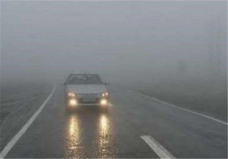 پلیس راهور: مهگرفتگی در محورهای شمالی و بارش باران در مازندران و گلستان