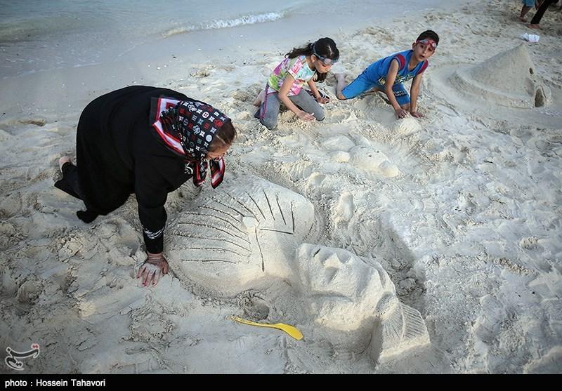 مسابقه ساخت مجسمه های شنی, جشنواره مجسمه های شنی , مجسمه های شنی زیبا, مجسمه شنی, مجله مراحم