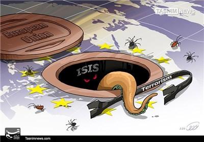 کاریکاتور/ تروریست فاضلابی!!!