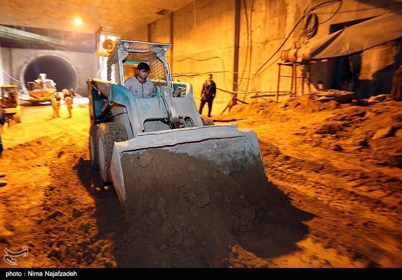 ریزش قسمتی از تونل قطار شهری مشهد