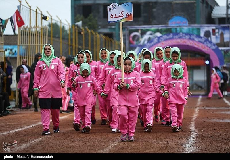 مراسم افتتاحیه نخستین المپیاد ورزشی گلستان