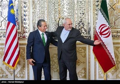 دیدار وزرای امور خارجه ایران و مالزی