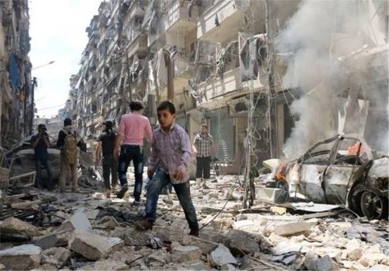 قصف مستشفى حلب
