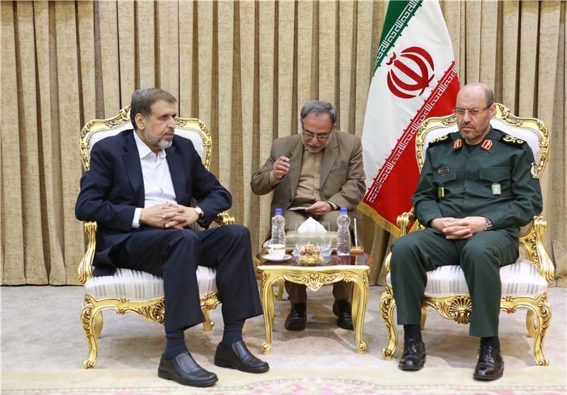 العمید دهقان : ایران الاسلامیة ستواصل دعمها للشعب الفلسطینی حتى النهایة