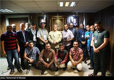 وفد اعلامی عراقی یزور وکالة تسنیم