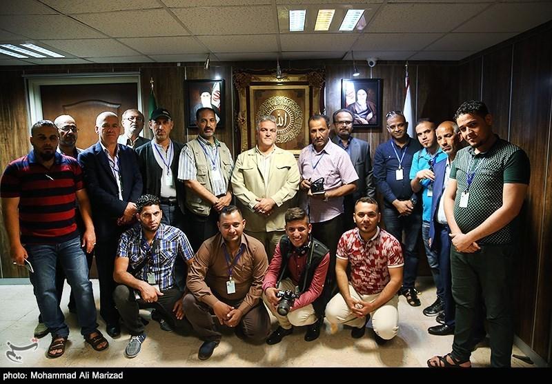 بازدیدهیئت رسانهای عراقی از خبرگزاری تسنیم