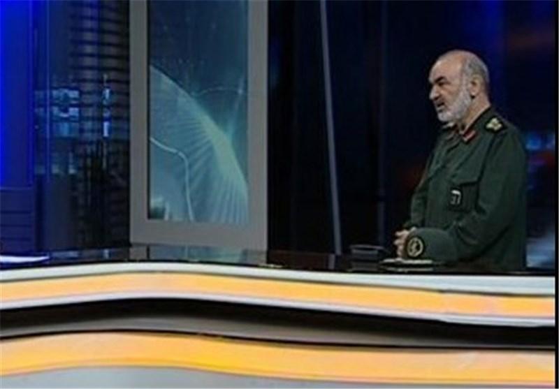 العمید سلامی : نرفض أیة قیود على مناوراتنا ولن نسمح لأی سفینة تحاول تهدیدنا بعبور «هرمز»