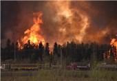 توقف تولید نفت در کانادا به دلیل آتش سوزی