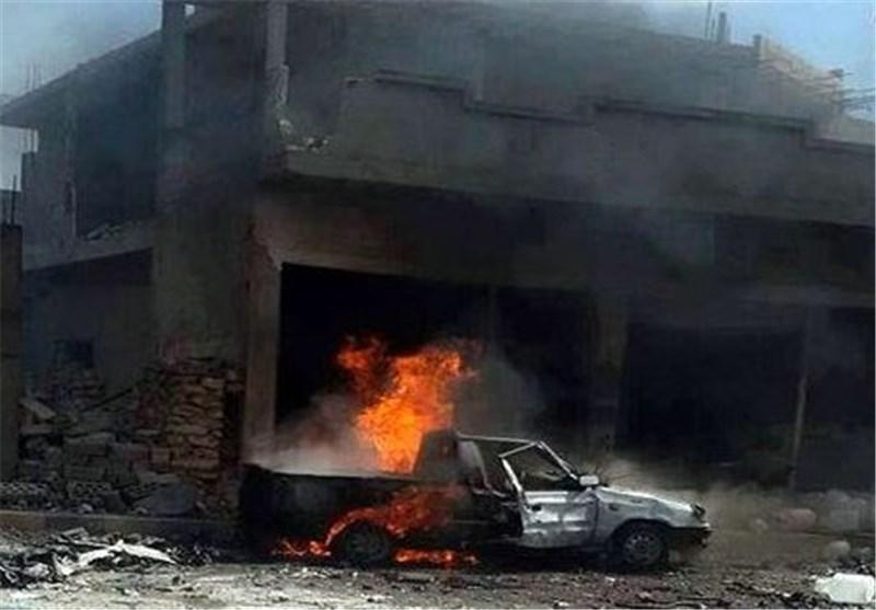 هجمات انتحاریة متزامنة على مراکز أمنیة فی حمص السوریة