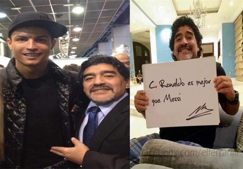 مارادونا رونالدو