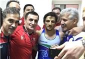 سوریان المپیکی شد/ کشتی فرنگی ایران با ترکیب کامل راهی ریو میشود + تصاویر
