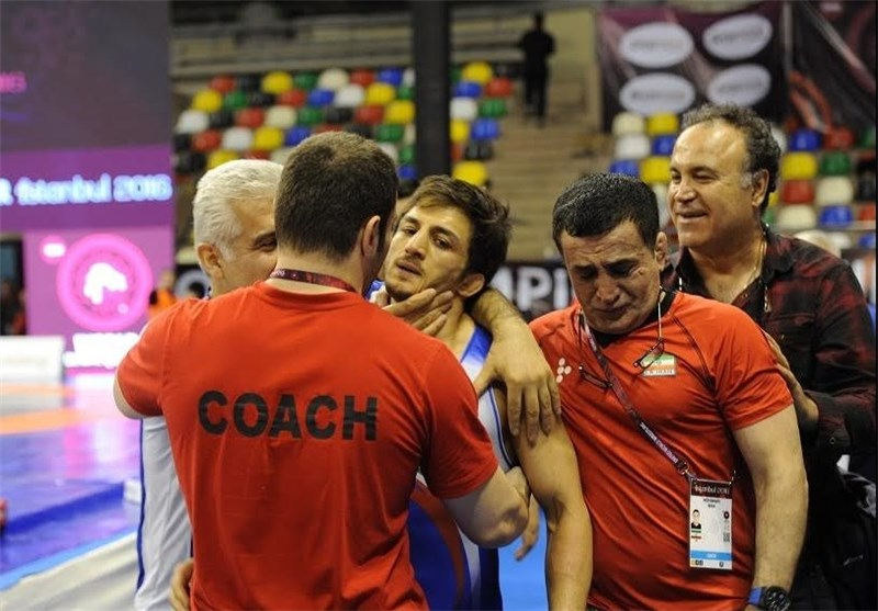 Greco-Roman Wrestler Hamid Sourian Secures Olympic Berth