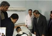 سفر ولایتی به دمشق/ عیادت از مجروحین جنگی در بیمارستان