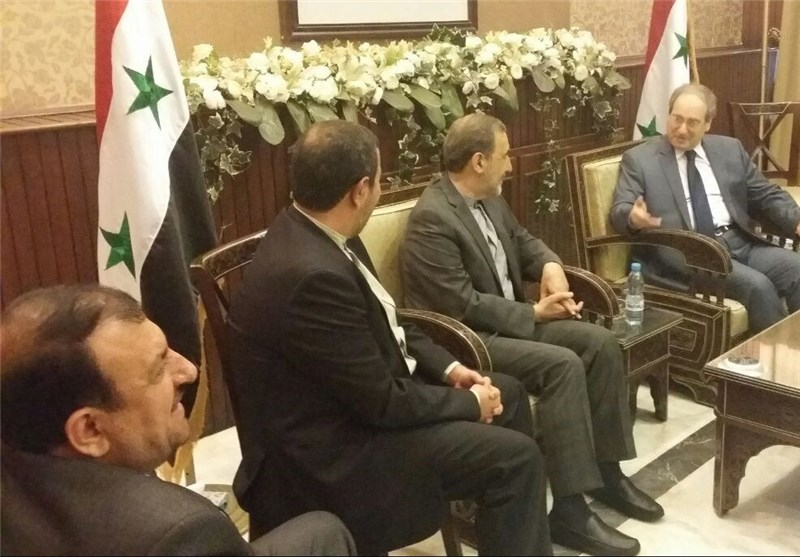 Iran to Keep Up Support for Syria: Velayati