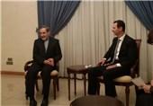 بشار اسد:از مقام معظم رهبری و دولت ایران برای حمایتها سپاسگزارم/ولایتی: از تمام ظرفیتها برای مبارزه با تروریستها استفاده میکنیم