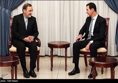 الرئیس الأسد یستقبل مستشار الامام الخامنئی