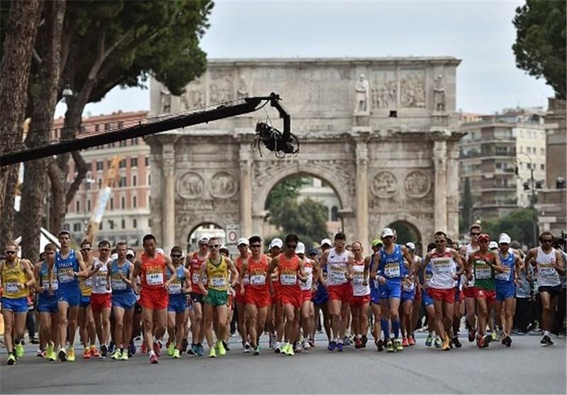 پیادهروی قهرمانی جهان