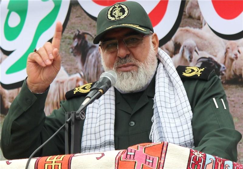 سردار علی پاشا محمدی مسئول بسیج عشایر کشور