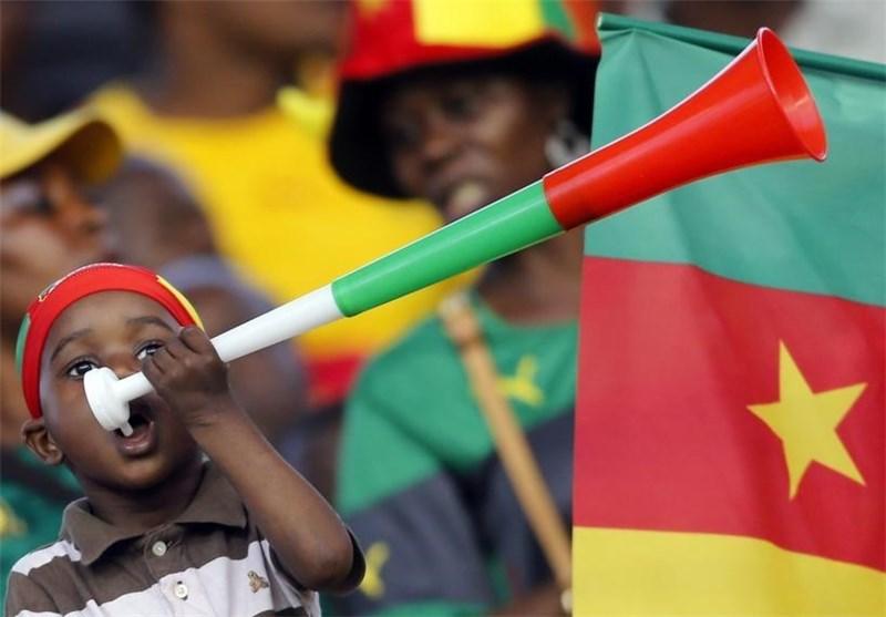 هوادار فوتبالی کامرون