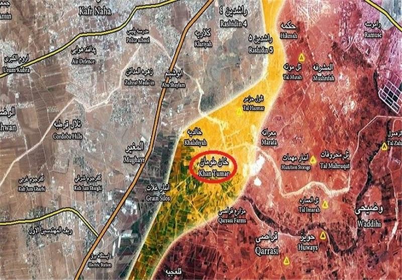 Suriye Ordusunun Han Tuman'da Benzersiz Operasyonları/ 40'tan Fazla Ölü ve Yaralı Terörist Var