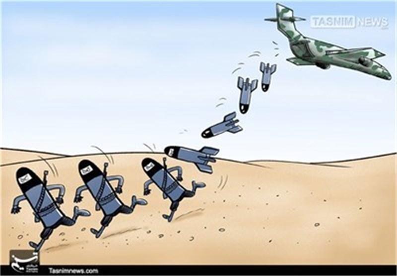 """کاریکاتیر.. بریطانیا تطالب تعزیز مشارکة الناتو العسکریة ضد """"داعش"""""""