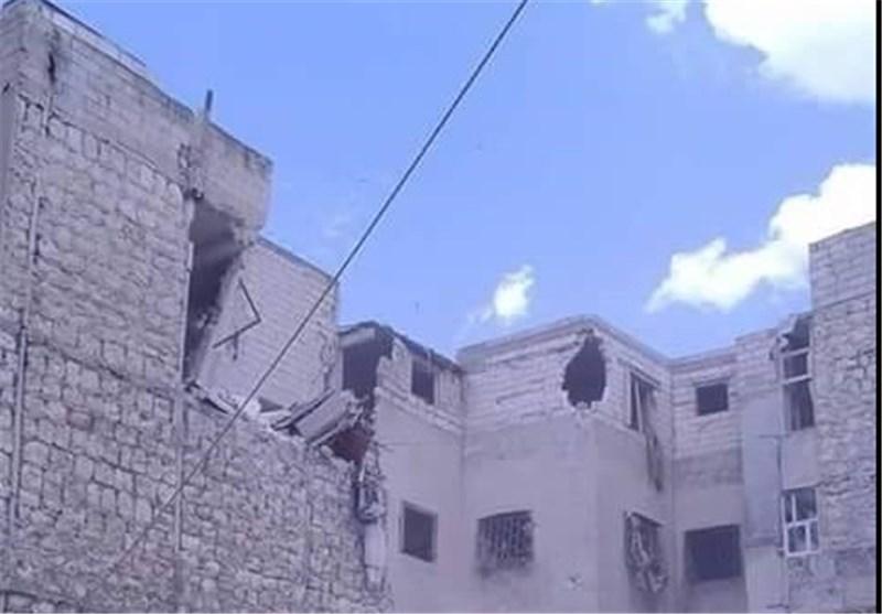 "الجیش السوری یقصف مسلحی ""بنش"" بریف إدلب ردا على خرقهم الهدنة +صور"