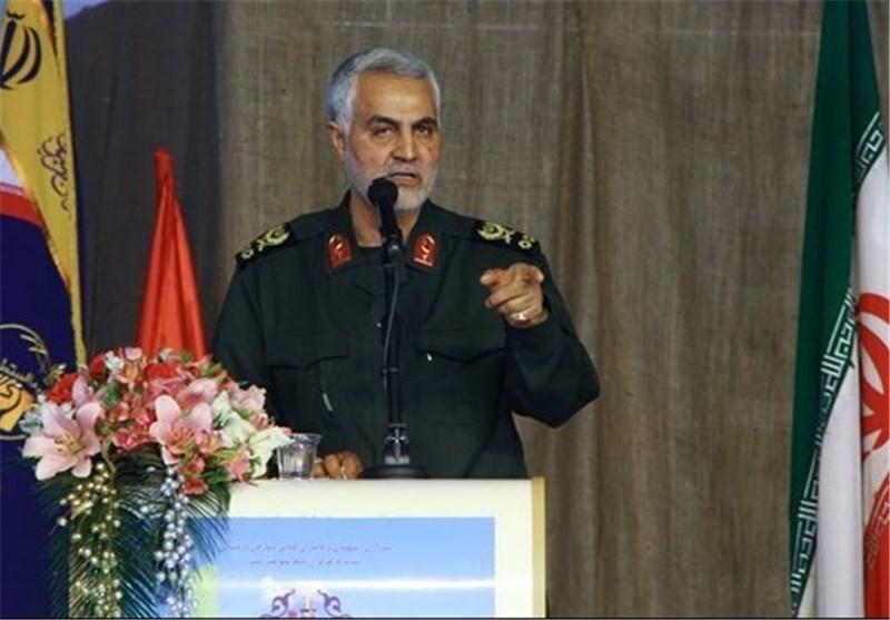 اللواء سلیمانی: صمود إیران أمام التکفیریین حال دون تشکیل حکومة داعش