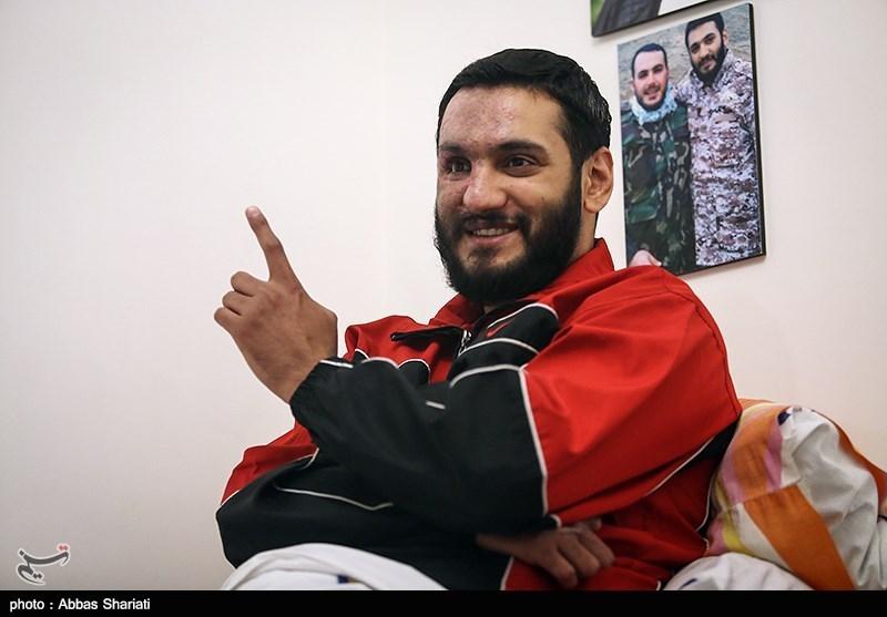 مصاحبه با جانباز مدافع حرم حبیب الله عبدالهی