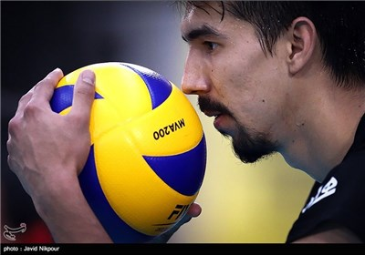 Iran Volleyball Team Preparing for Olympic Qualifying Tournament