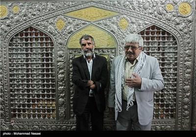 علیرضا رهدار جانباز 70 درصد (نابینا و قطع دو دست) متولد 1343 در تاریخ 1366 در منطقه جنگی کوش خوزستان مجروح شده است و عقیل اوخلی جانباز 50 درصد (نابینا) متولد 1337 در سال 1365در عملیات کربلای 1 مجروح شدهعقیل یک تخریبچی جنگ بوده است .امروز به مناسب روز جانباز هر دو بر سر مزار همرزمانشان در گلزارشهدای گرگان حاضر شدند و با آنها تجدید پیمان کردند.