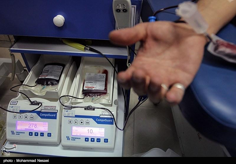 اهدای خون پاسداران گرگانی در روز جانباز