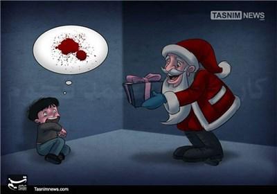 کاریکاتور/ هدیه برای کودکان سوریه و یمن