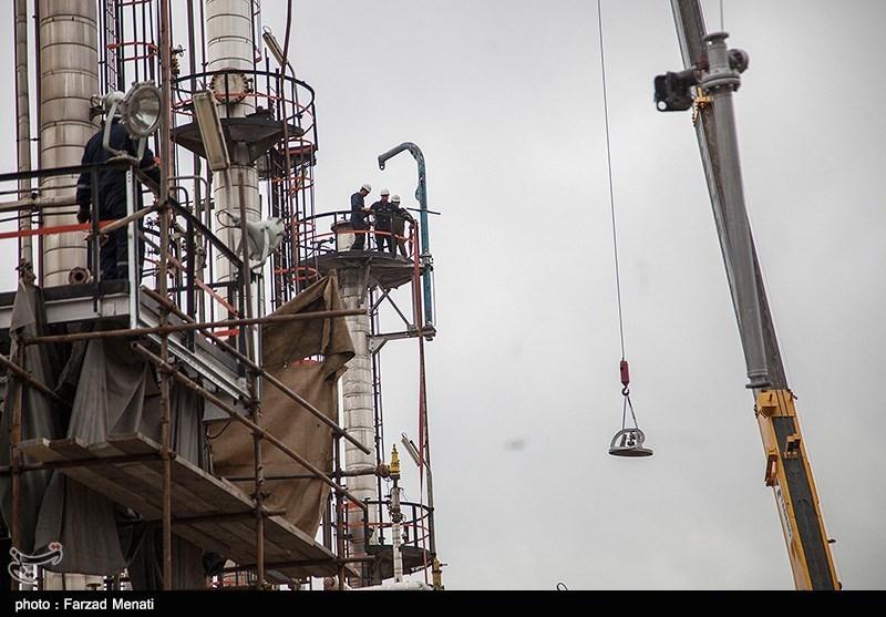 بازدید خبرنگاران از روند تعمیرات اساسی پالایشگاه نفت کرمانشاه