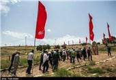 بازدید کاروان راهیان نور سازمان بسیج ورزشکاران از مناطق عملیاتی غرب کشور