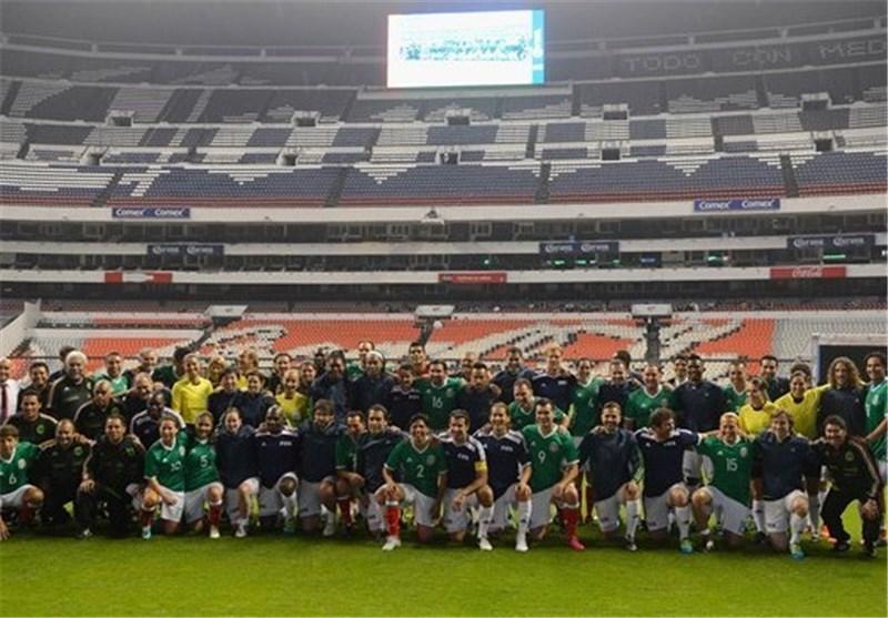 بازی نمایشی تیم اسطورههای فیفا و مکزیک