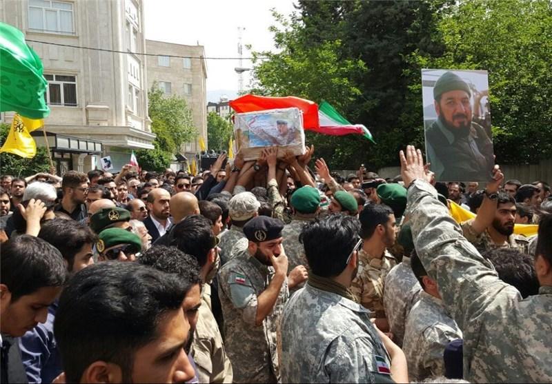 تشییع پیکر سردار ناظری