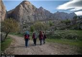آبشار تافه در کرمانشاه