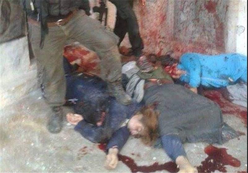 جنایت تکفیری سوریه