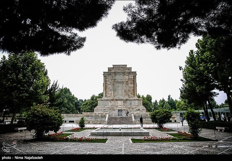 مقبرة الشاعر الکبیر فردوسی فی منطقة طوس+ صور وفیدیو