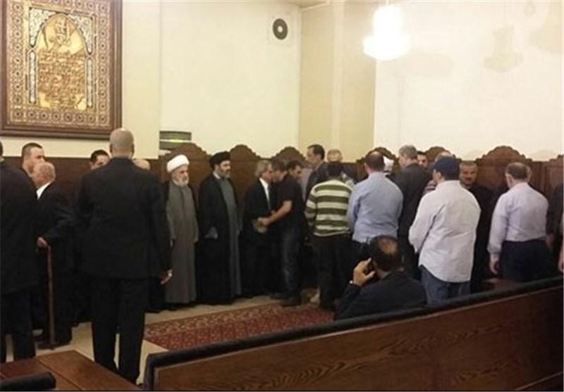 بالصور.. المقاومة تتقبّل التبریکات والتعازی باستشهاد القائد مصطفى بدر الدین