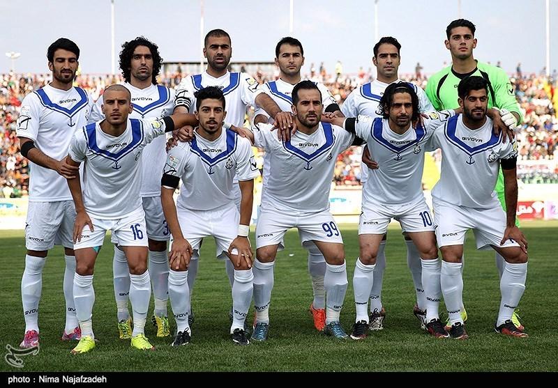 دیدار تیم های فوتبال سیاه جامگان و ملوان انزلی