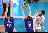 Iran Volleyball Team Loses to France in Friendly