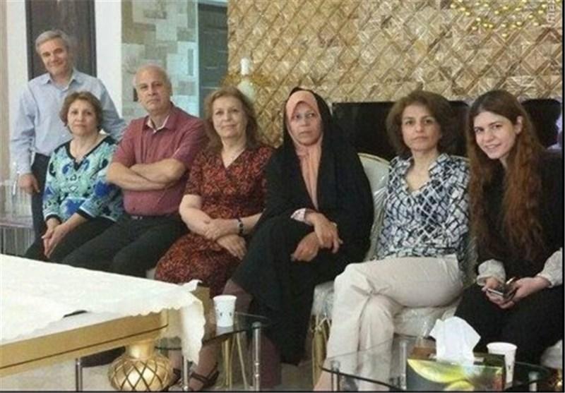 اعتراض بسیج 8 دانشگاه تهران به دیدار فائره هاشمی با اعضای فرقه بهائیت