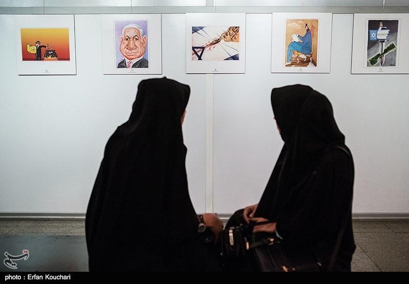 نشست خبری دومین مسابقه بینالمللی کارتون و کاریکاتور هلوکاست