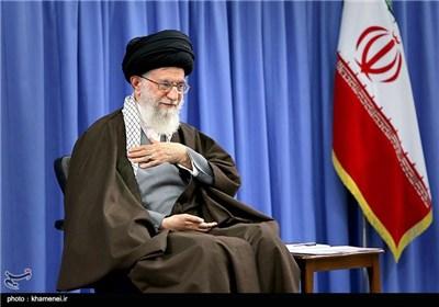 الامام الخامنئی یستقبل مدرسی وطلبة الحوزات العلمیة فی طهران