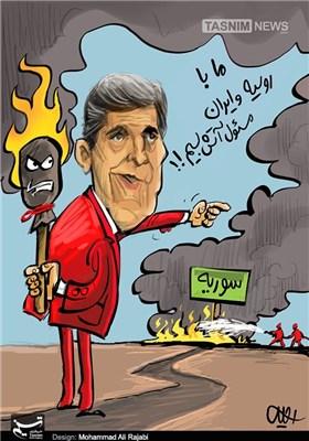کاریکاتور/ مسئول آتش بس!