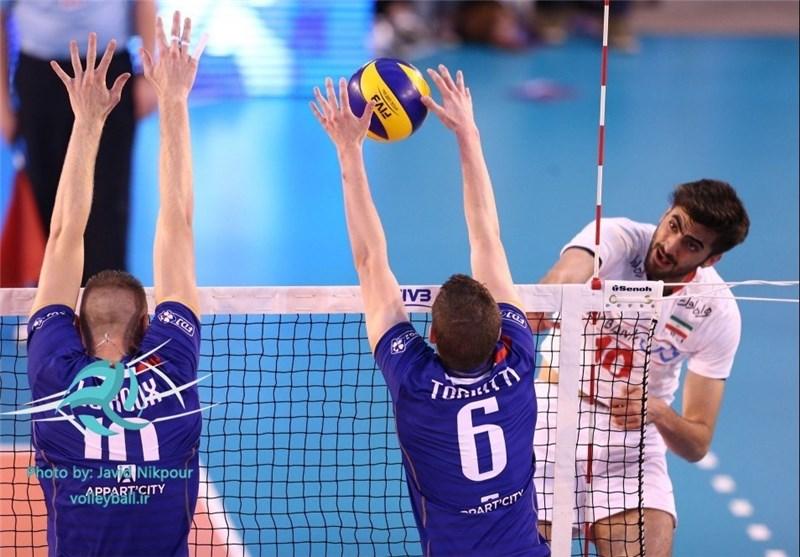 والیبال ایران فرانسه غفور